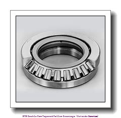 NTN T-EE231462/231976D+A Double Row Tapered Roller Bearings (Outside Direction)