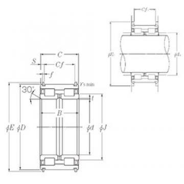 360 mm x 540 mm x 243 mm  NTN SL04-5072NR SL Type Cylindrical Roller Bearings for Sheaves