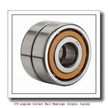 NTN 7821 DB Angular Contact Ball Bearings (Single, Duplex)