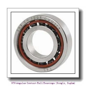 NTN 7038B DB Angular Contact Ball Bearings (Single, Duplex)