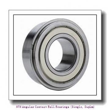 NTN 7060B DB Angular Contact Ball Bearings (Single, Duplex)