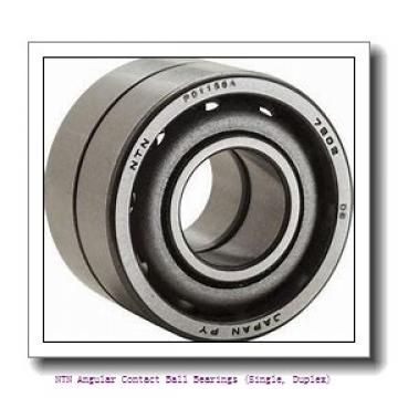NTN 7820 DB Angular Contact Ball Bearings (Single, Duplex)